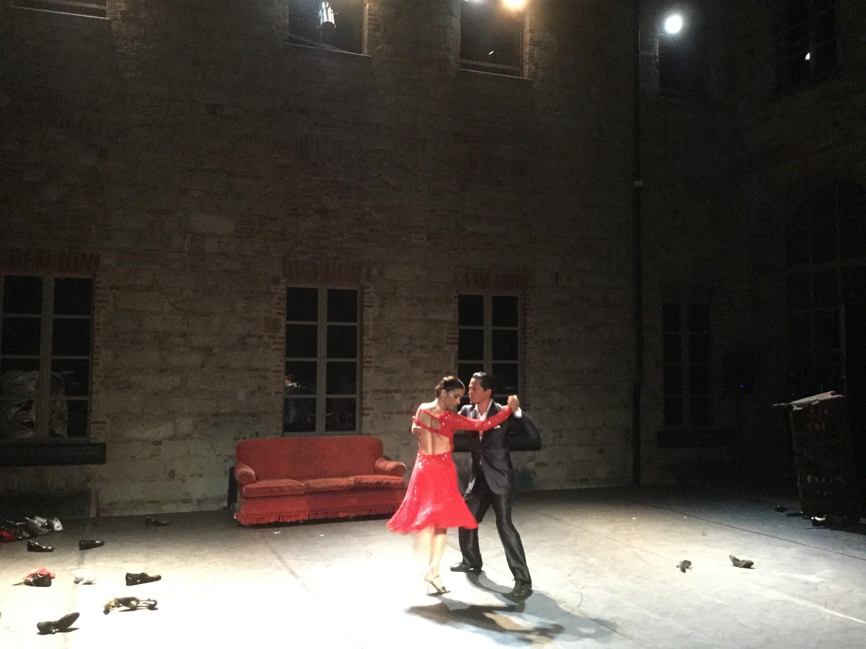 Tango sulla terrazza del Palazzo Callori durante il Vignalemonferrato Festival