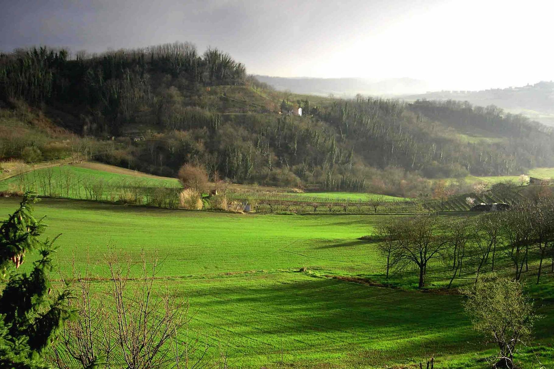 Vista dalla Castellana