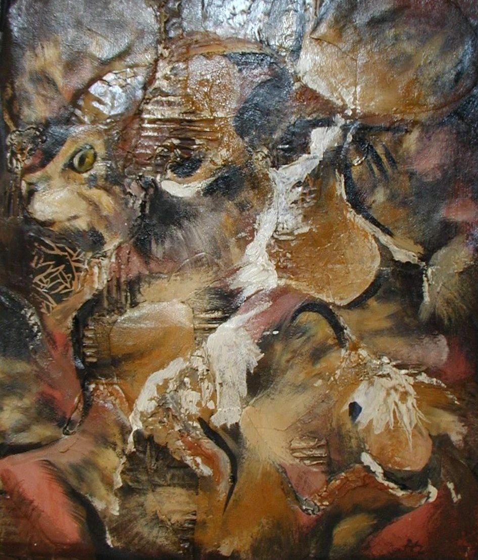 Katzenchaos 38x45