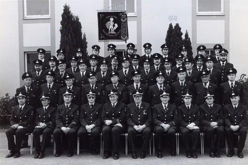 1982 100 Jahre Freiwillige Feuerwehr Hatzenbühl