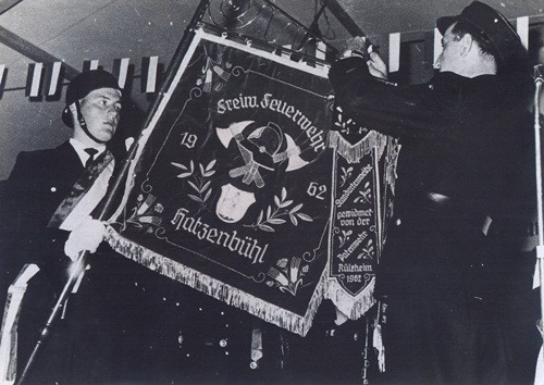 1962 Fahnenweihe