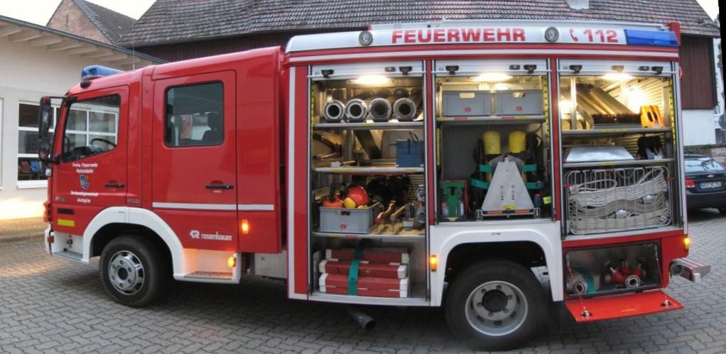 Mlf Mittleres L 246 Schfahrzeug Freiwillige Feuerwehr