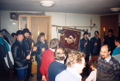 1987 Auszug altes Feuerwehrgerätehaus