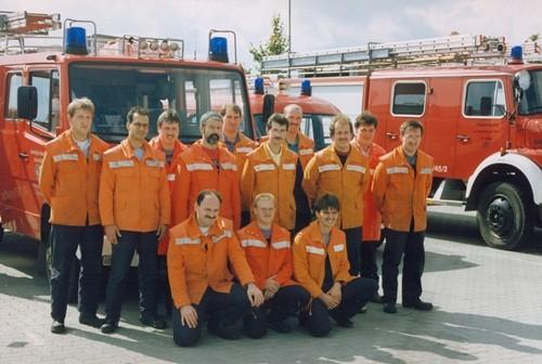 1993 Feuerwehrleistungsabzeichen in Gold