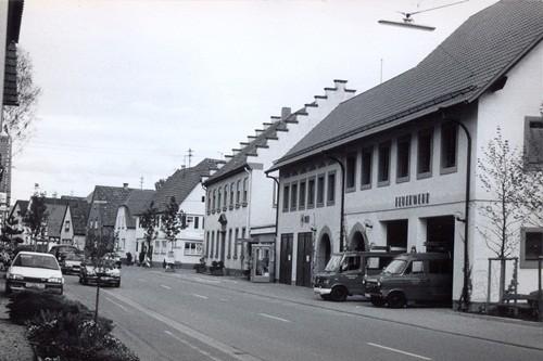 1992 110 Jahre Freiwillige Feuerwehr Hatzenbühl und neues Feuerwehrgerätehaus