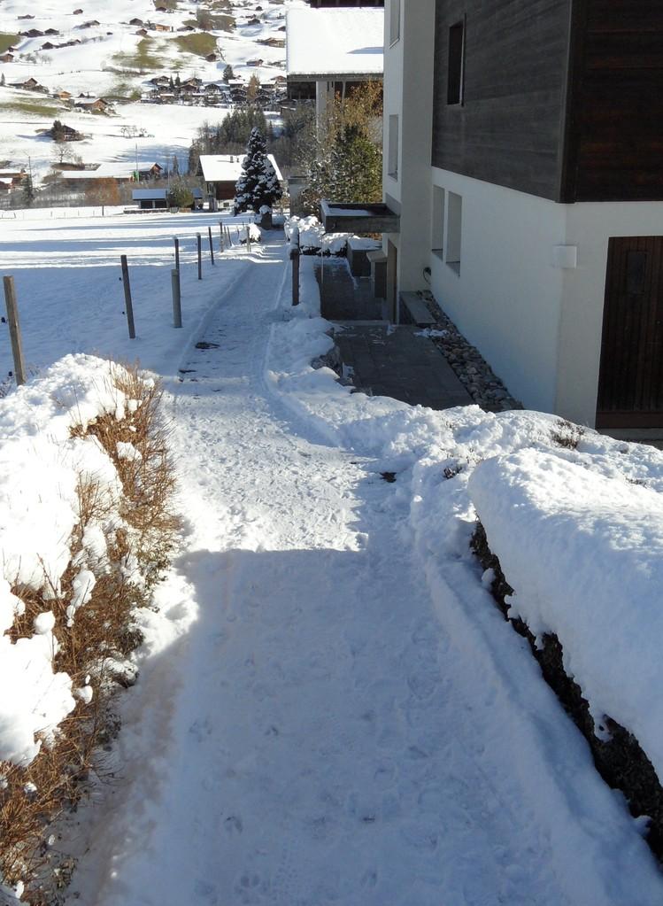 Zugang zu Haus