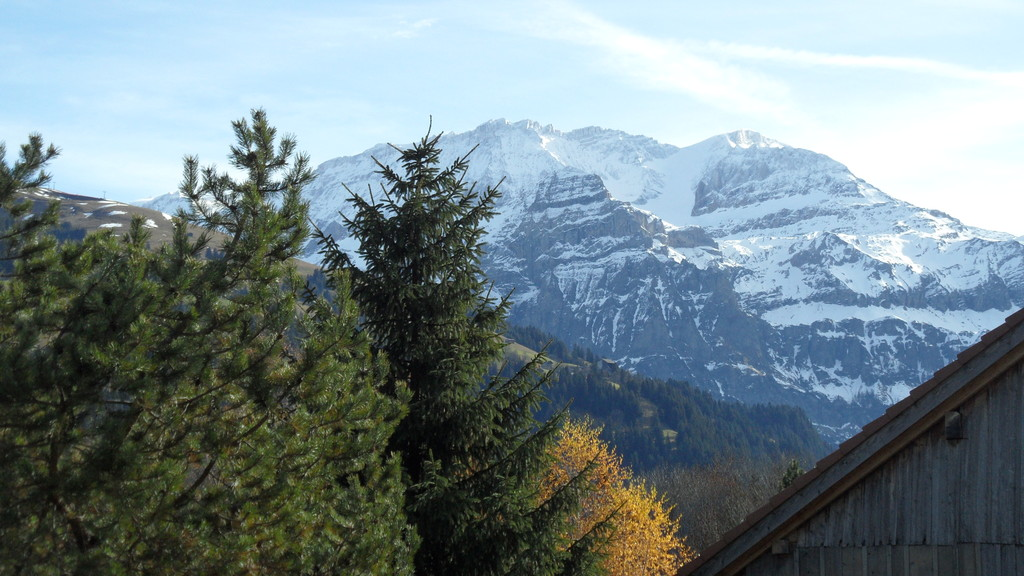 Vom Balkon Richtung Süden, Wildstrubel