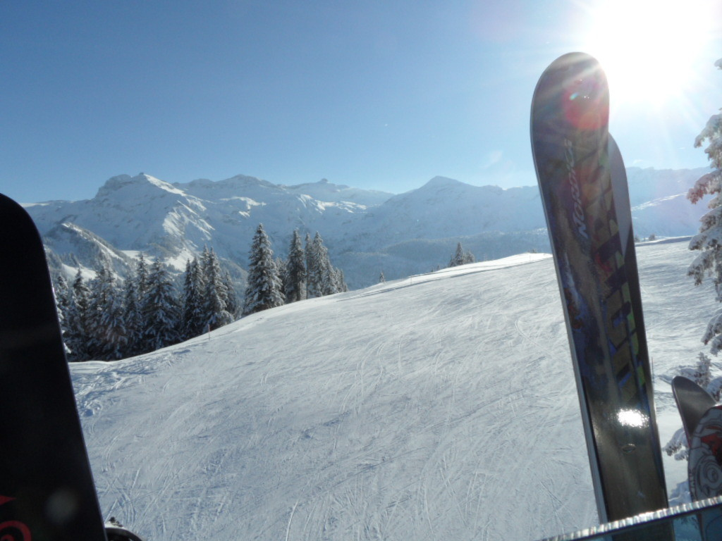Bergfahrt ins Skigebiet Betelberg