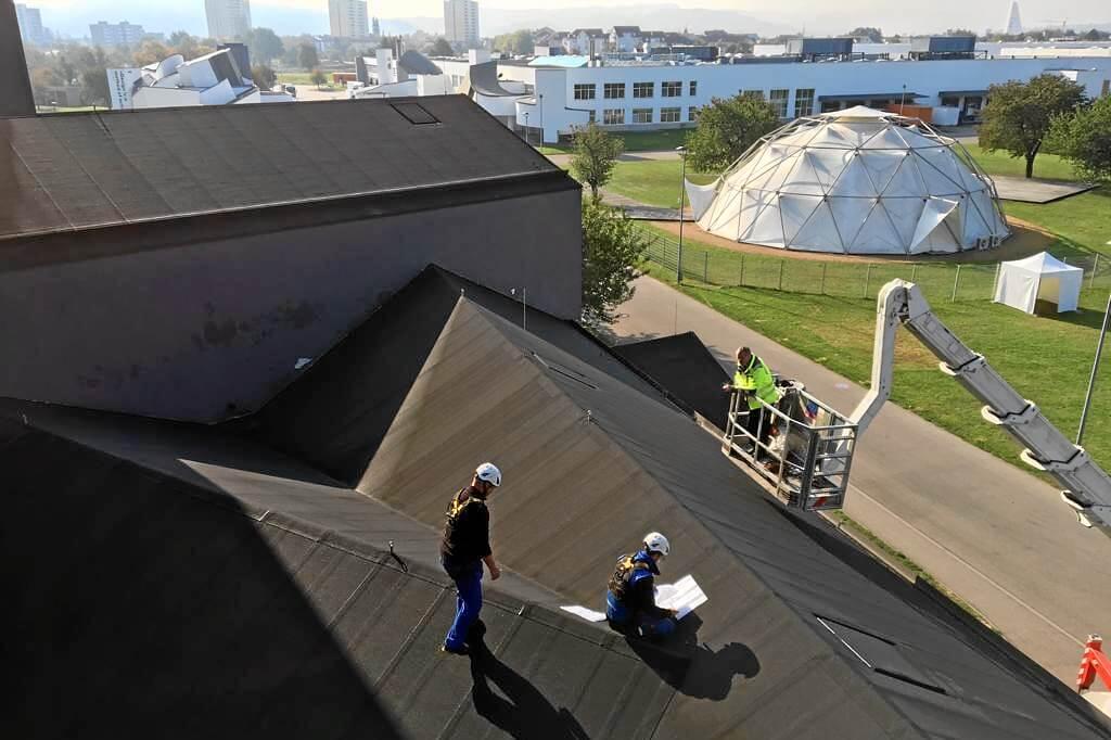 Dachinspektion Vitra Weil am Rhein