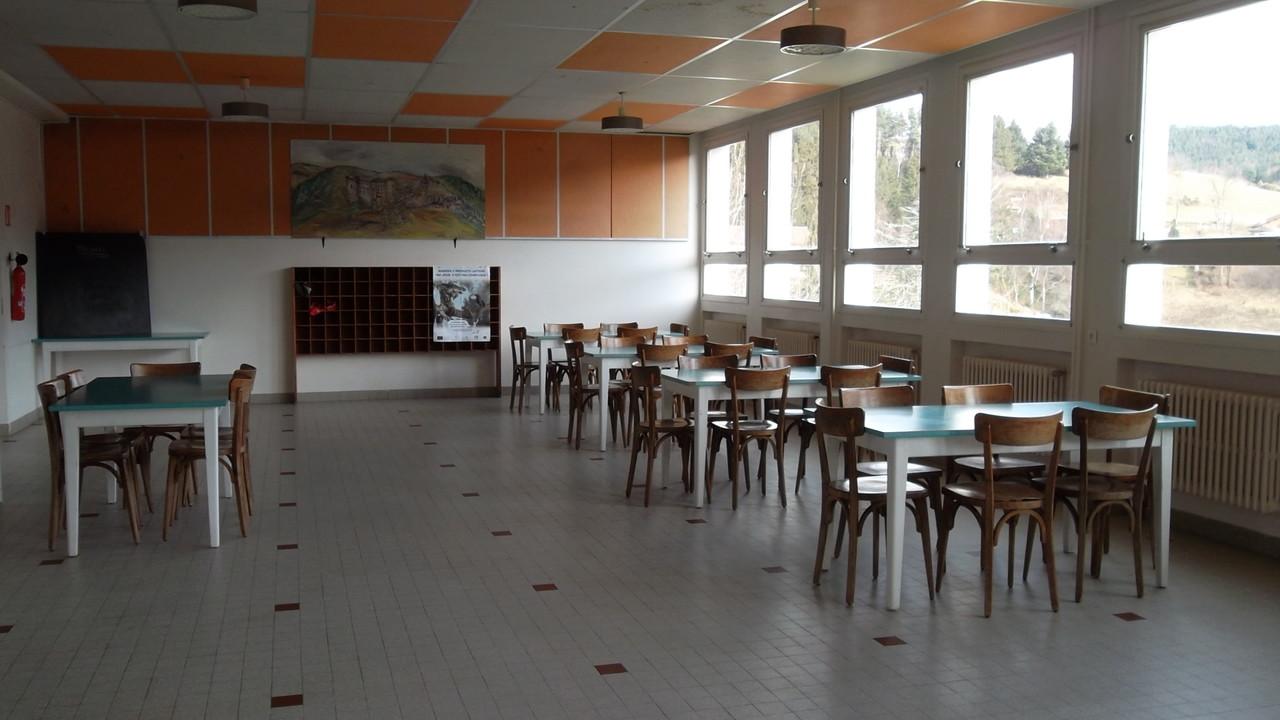 Salle de la cantine