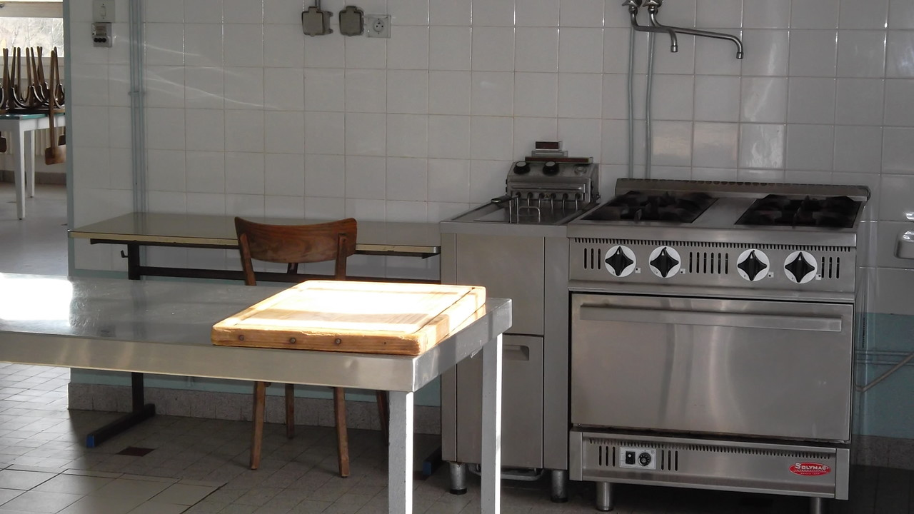 cuisine de la cantine