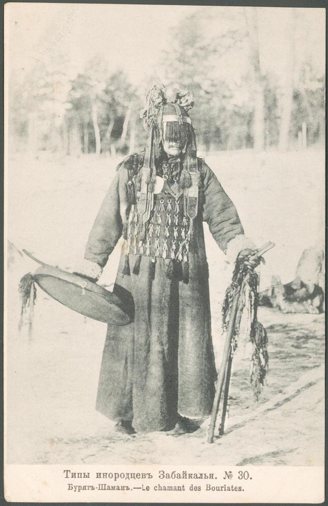 Shaman_Buryatia Von National Library of Russia #mediumismus #spiritismus