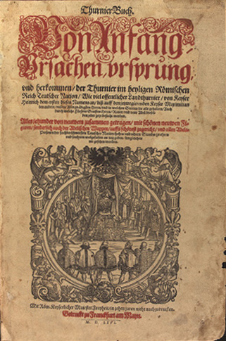 Ruexner - Thurnierbuch (Titelblatt)  https:commons.wikimedia.org