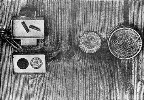 Transport von Geldstücken aus verschlossenen Schachteln. #Slade #Medium #paranormal #ghosthunters