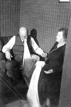 Einar Nielsen 3 #ektoplasma #medium #spiritismus #paranormal