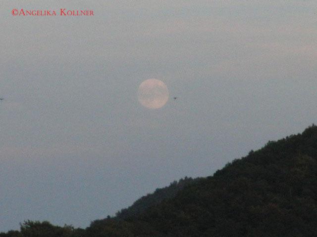 Der Mond über Burg Neudahn
