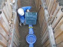 高禅寺南工区管渠開削工事