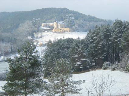 Vue sur le Château du Peuch