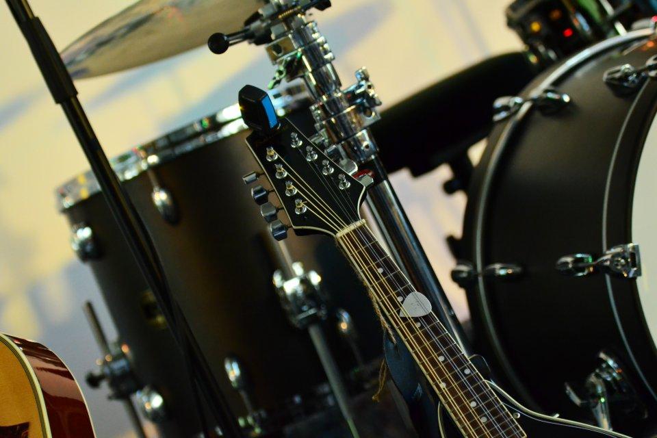 Raum für Schlagzeug