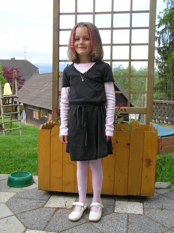 Bei der Erstkommunion von Julia