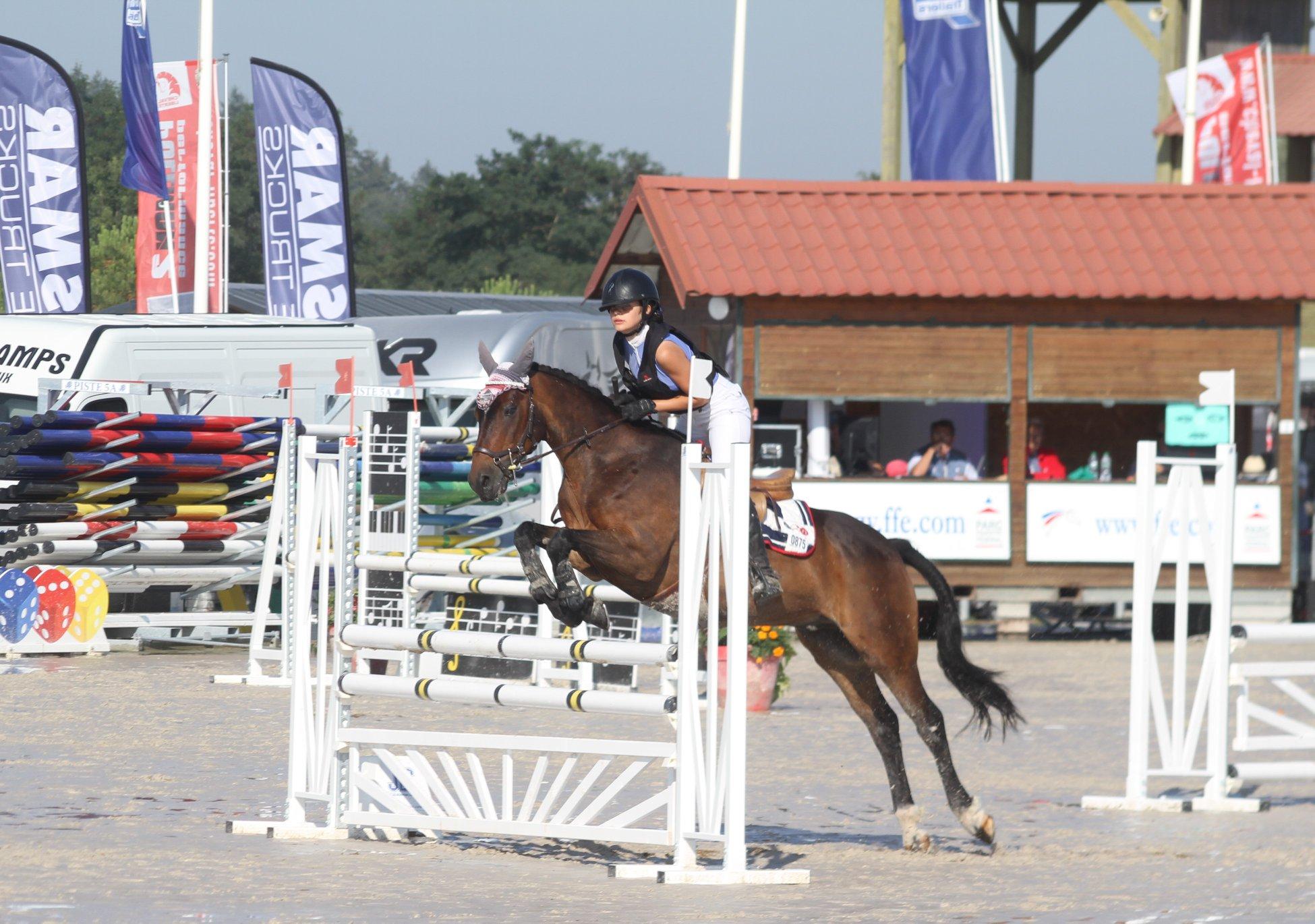 Championnat de France CCE Poney Elite D Junior
