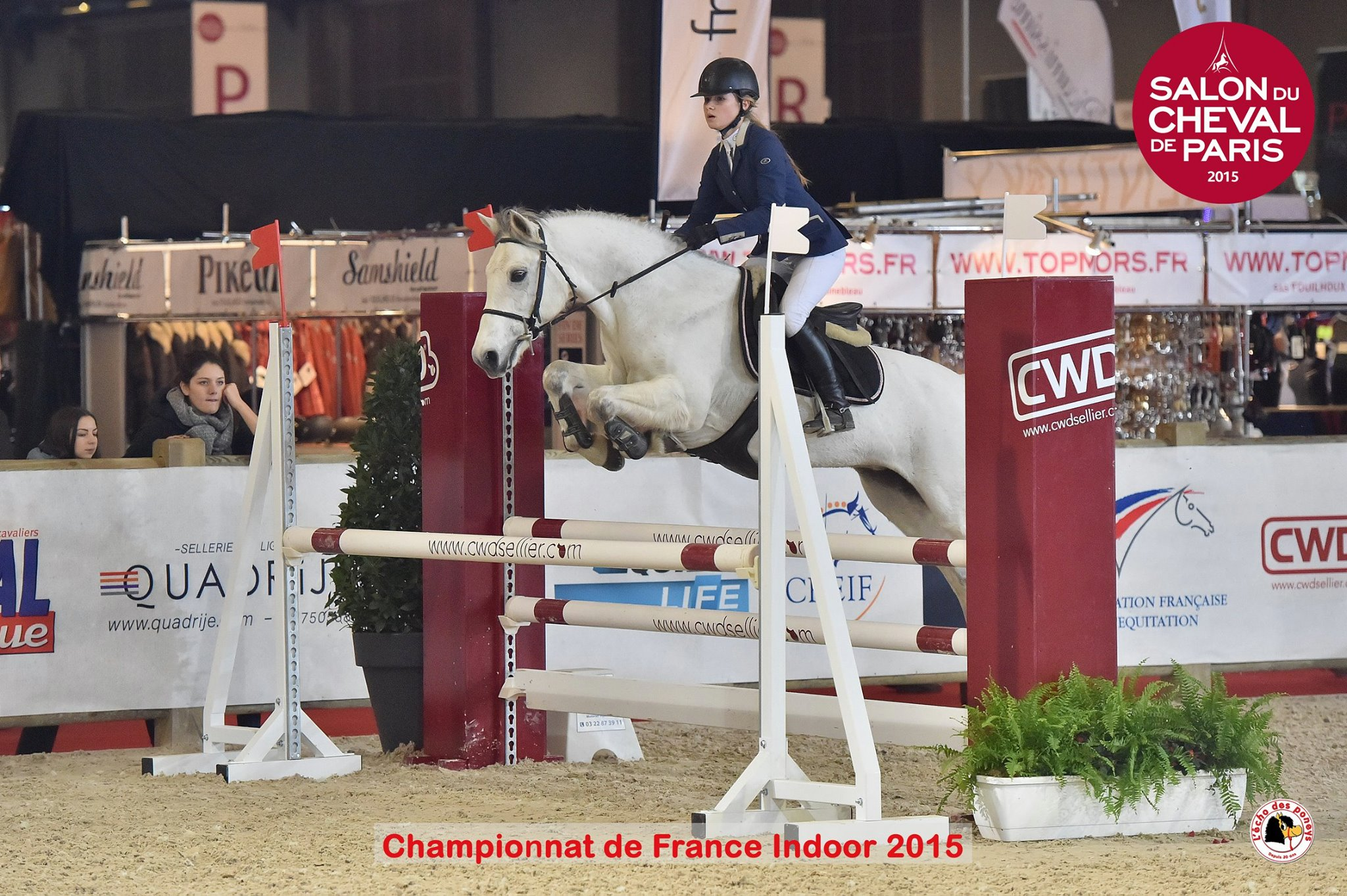 Indoor de France Poney 1D au Salon du Cheval 2015