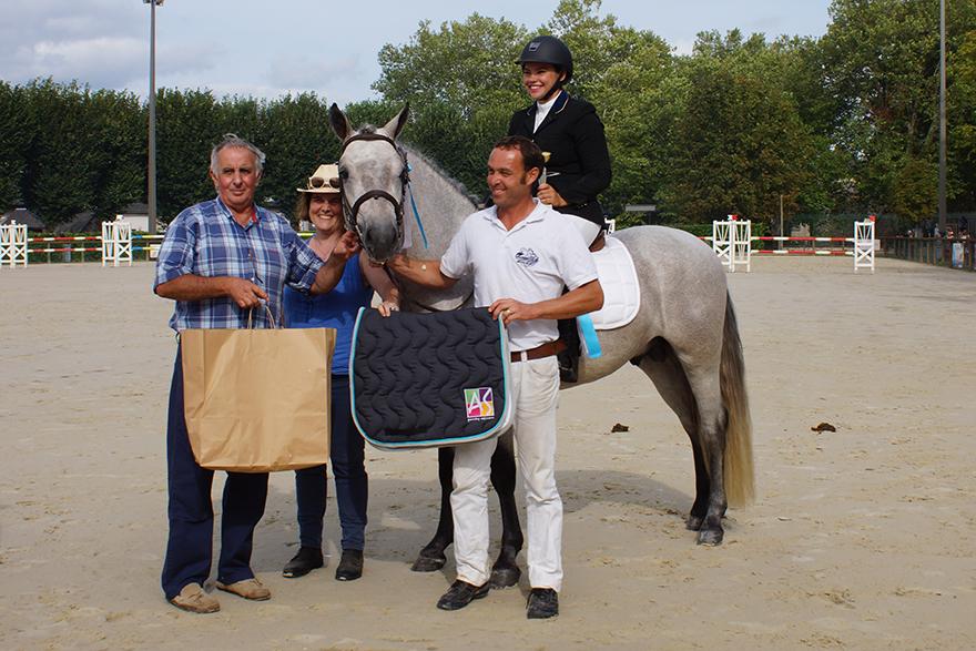 Fursy de Lamélie, champion des mâles 3 ans montés CO