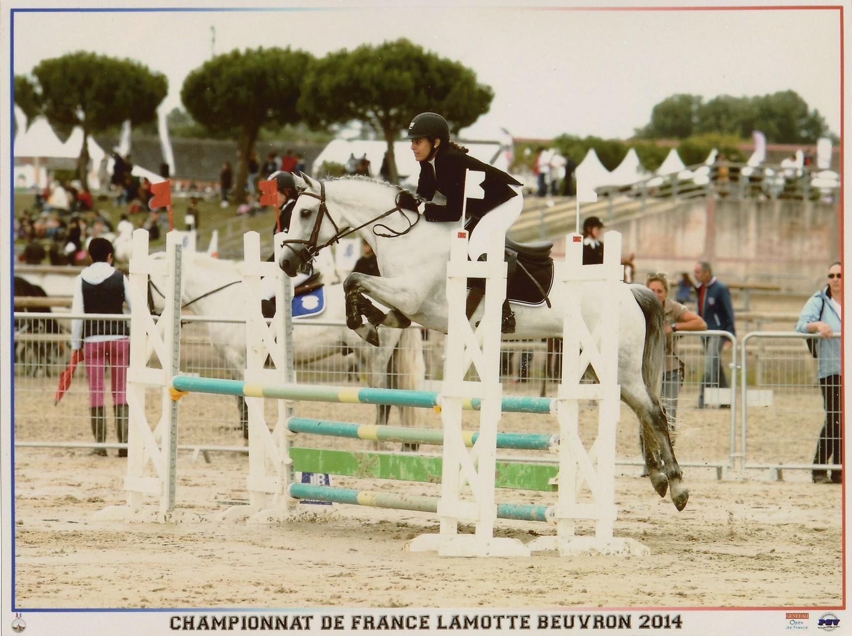 Championnats de France 2014 Poney 1D Cadet 1