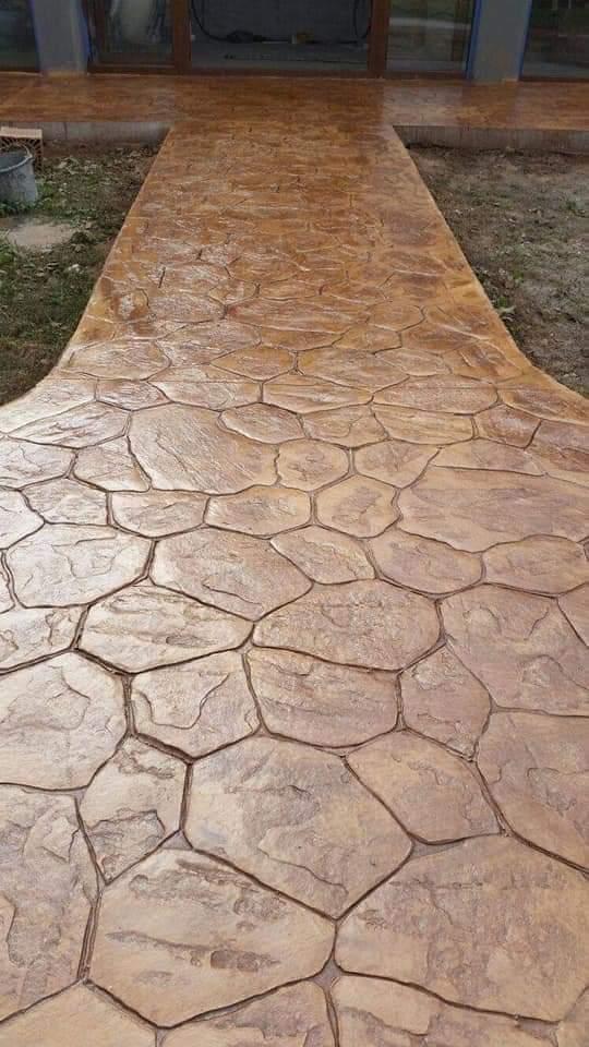 pavaj beton amprentat constanta
