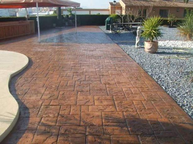 Pavaj beton amprentat Bucuresti Ilfov