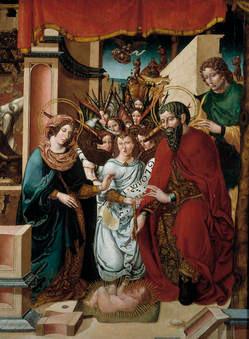 """""""Nacimiento de Cristo con la Adoración de los ángeles"""""""