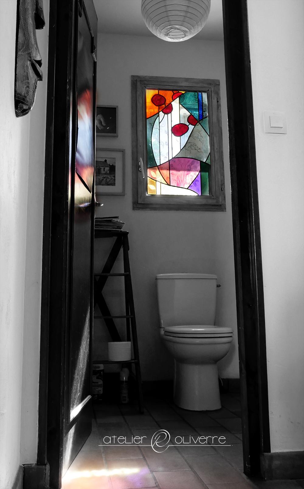vitrail floral atelier olivette