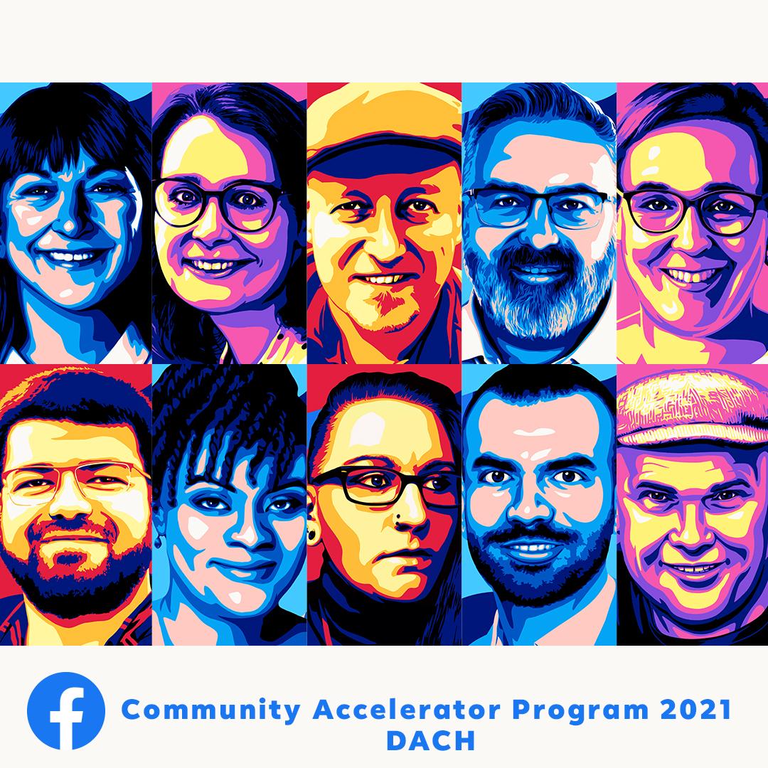 Facebook-Accelerator 2021/2022 - wir sind dabei
