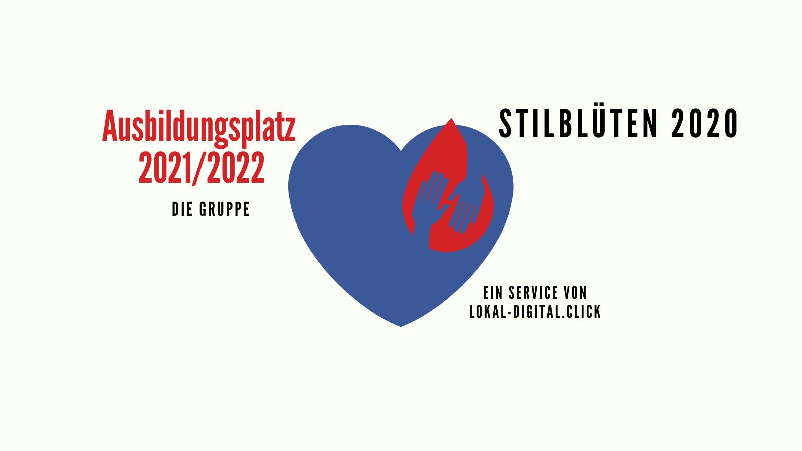 BestOf 2020 - Stilblüten aus der Ausbildungsgruppe