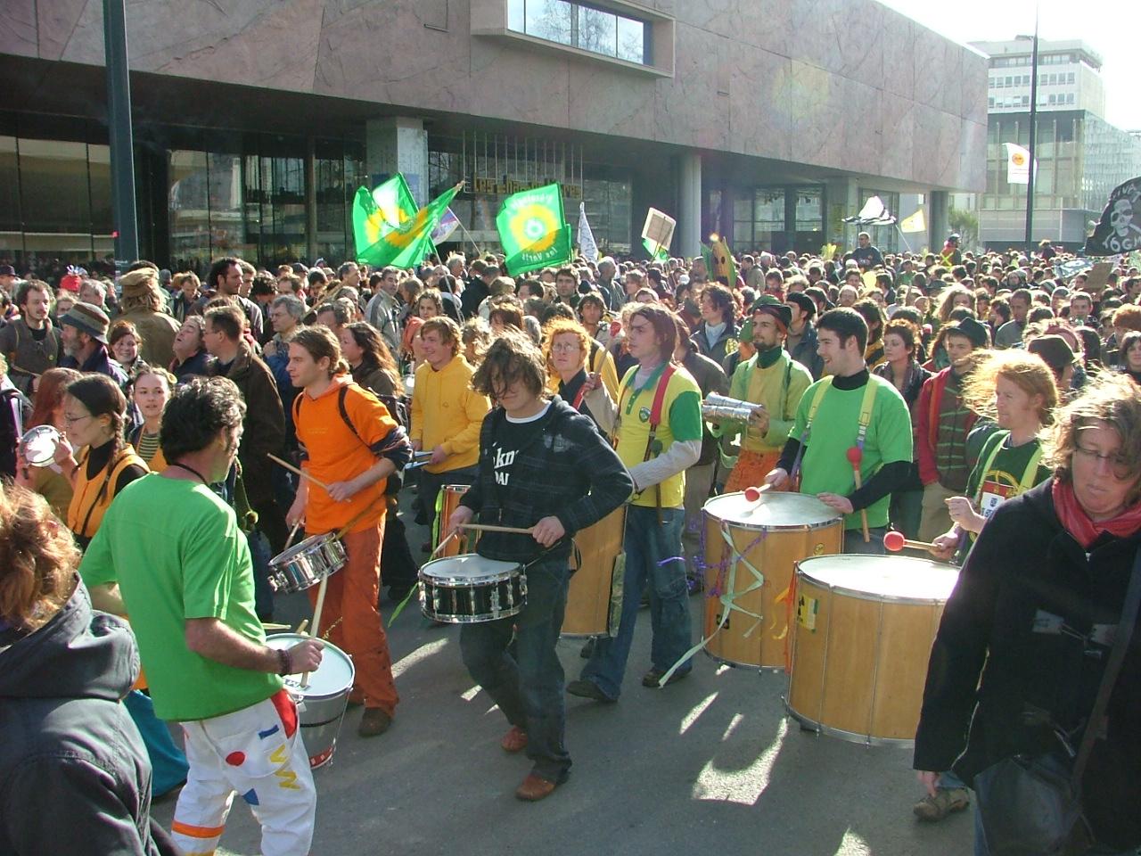 Manif anti OGM à Rennes, 2007