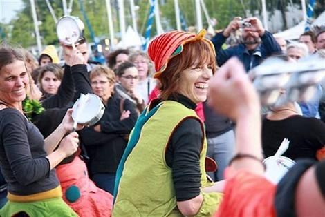 Batucada Ploukatak - Fête de la Musique à Vannes (©Isabelle Johancik - Ouest-France)