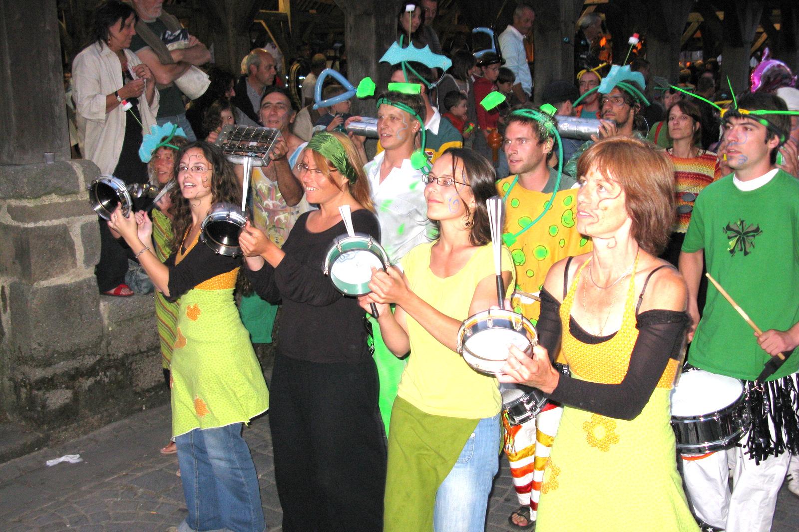 Fête de la musique, Questembert, 2008