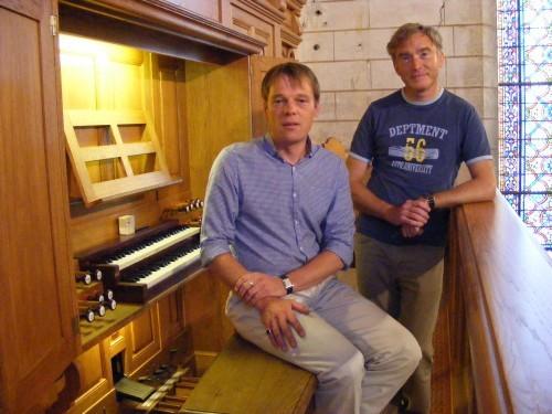 Peter PARSHAL et Christian MOUYEN - Amis de l'orgue de Nontron - Dordogne 24 - orguenontron.jimdo.com