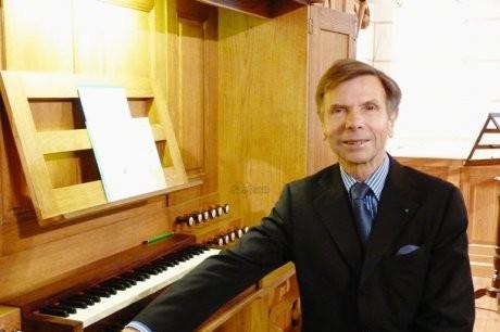 Jean-Paul IMBERT - Nontron - Amis de l'Orgue de Nontron- orgue Dordogne 24