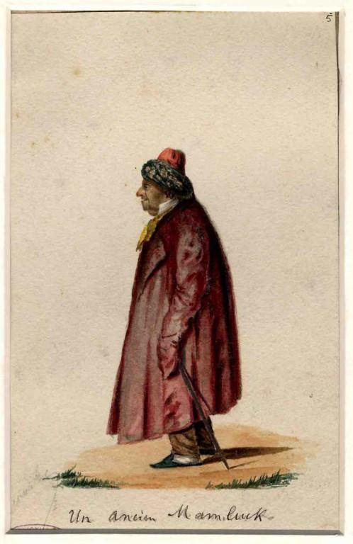 François Julien Decourbe - Un ancien Mamelouk - inv 970.7.5