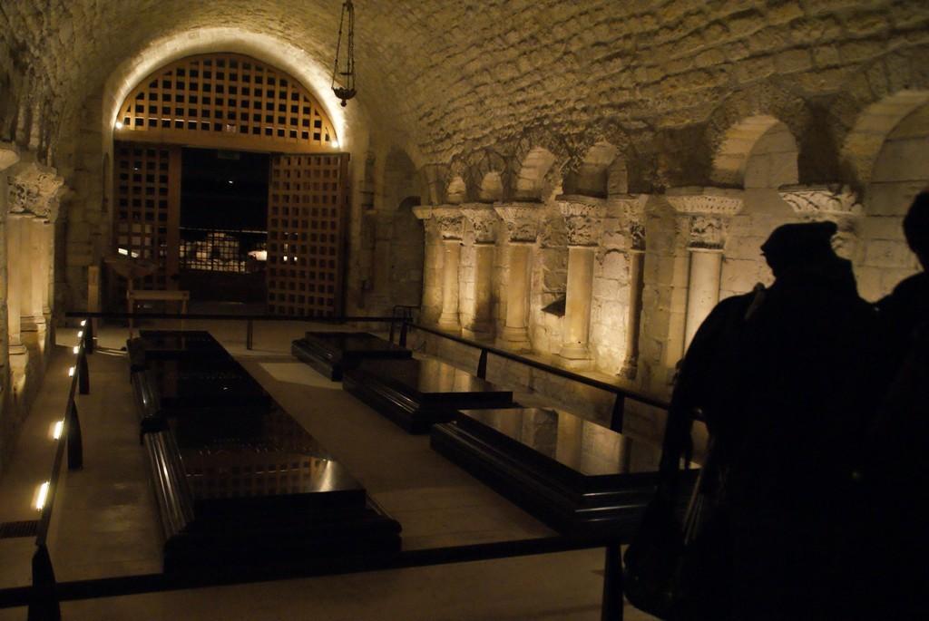 Crypte - La chapelle des Bourbons