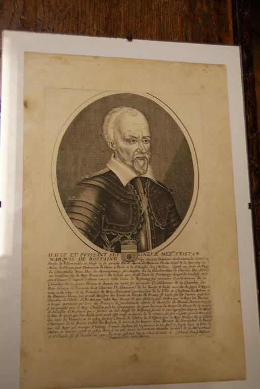 Tristan de Rostaing - Gouverneur et  Maire de Melun