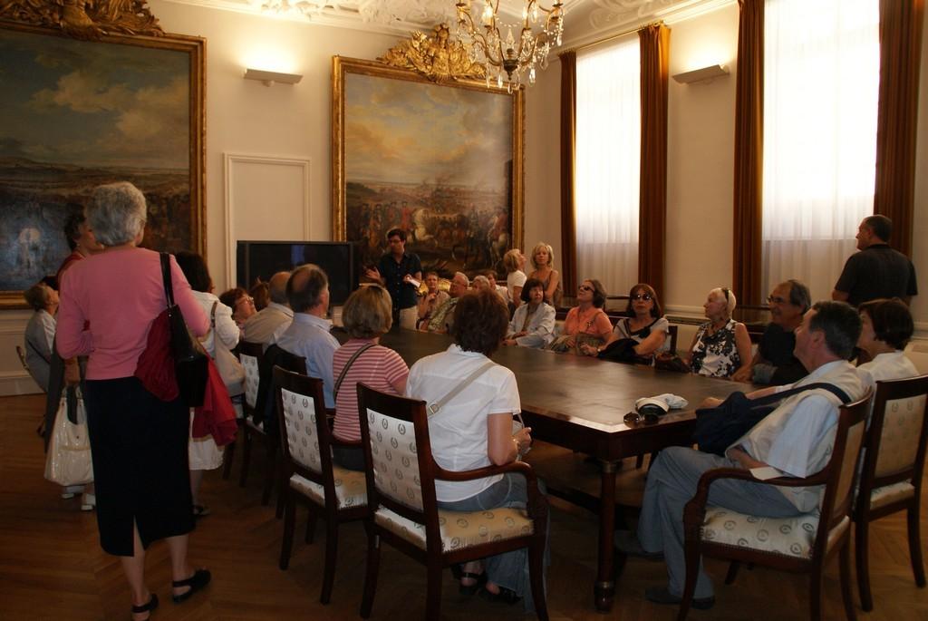 Hôtel de la Guerre - Salle de Conseil