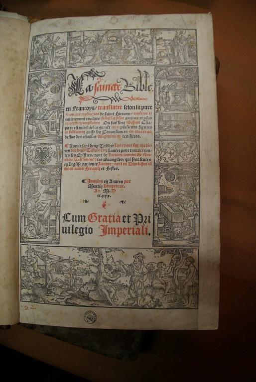 Première Bible en Français - Intérieur