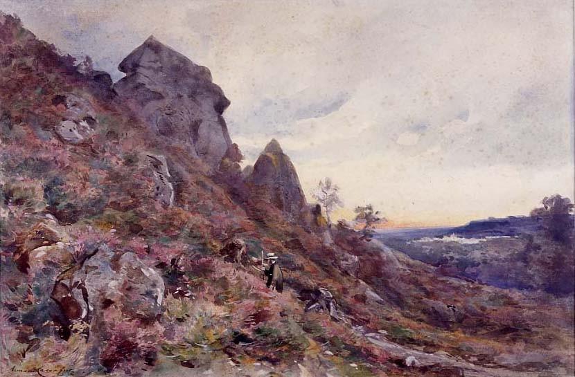 Armand Cassagne Hauteurs de la Gorge aux Loups inv 319