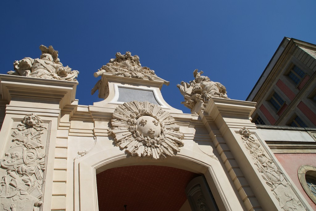 Hôtel de la Guerre - façade