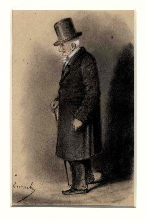 François Julien Decourbe - M. Desprez Notaire à Melun. Place de la Porte de Paris  - inv 970.7.114