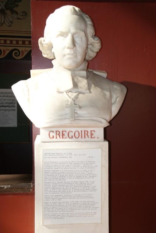 Salle du Jeu de Paume : Abbé Grégoire