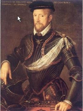 L'amiral Gaspard de Coligny par l'atelier Clouet