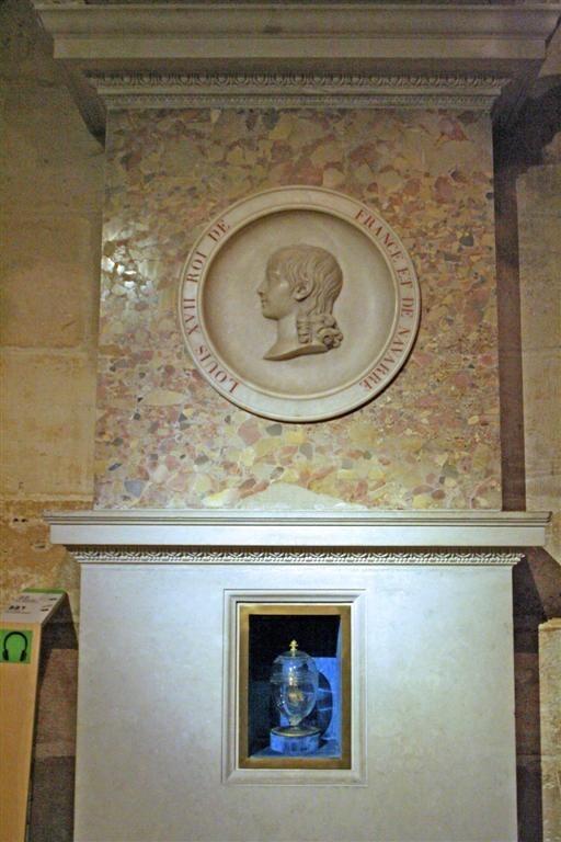Crypte - Cenotaphe de louis XVII
